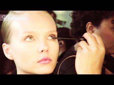 Agua De Coco Swimwear Models Backstage At Spfw Summer 2012 | Fashiontv - Ftv video