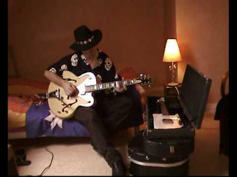 GERRY JOE WEISE Hotel Slide, blues guitarist