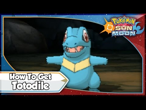 Pokemon Sun and Moon - How To Get Totodile EARLY! [SM Tips & Tricks]