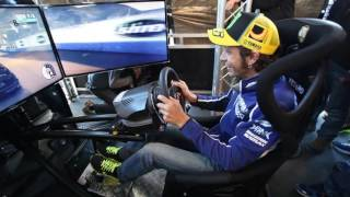 MotoGP Riders testing the Vesaro Simulator