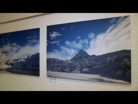 Vernisage Marcel Prinoth und Christian Wäger im Silvrettacenter