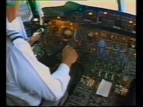 Concorde-From the cockpit, Take-off and landing.