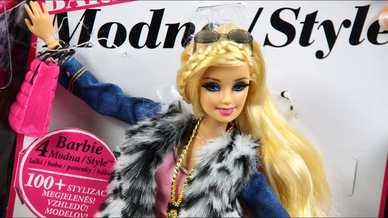 Barbie Style Fashion Doll Modna Barbie Lux Sklep Z Zabawkami Youtube