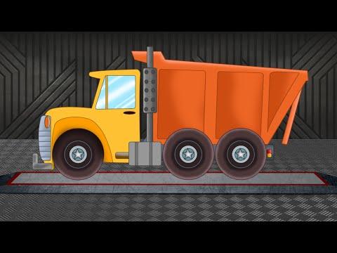 Dump Truck | Formation & Uses | Cartoon Truck | Vehicles for Children