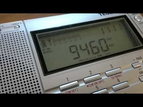 China Radio International (transmitter Kunming-Anning, China) in esperanto - 9460 kHz