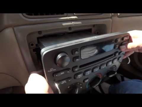 Quick Removal Ford Factory Stereo CD Player with Removal Tool