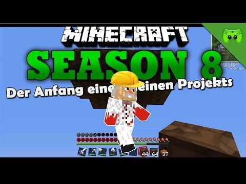 DER ANFANG EINES KLEINEN PROJEKTS «» Minecraft Season 8 # 123 HD