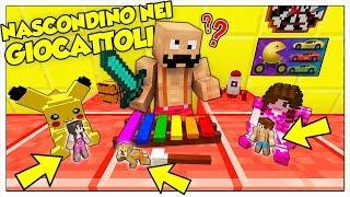 MINI NASCONDINO NEL NEGOZIO DI GIOCATTOLI DA PICCOLISSIMI! - Minecraft ITA