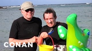 Download Lagu Martin Short On His Steve Martin Tropical Vacation - CONAN on TBS Gratis Mp3 Pedia
