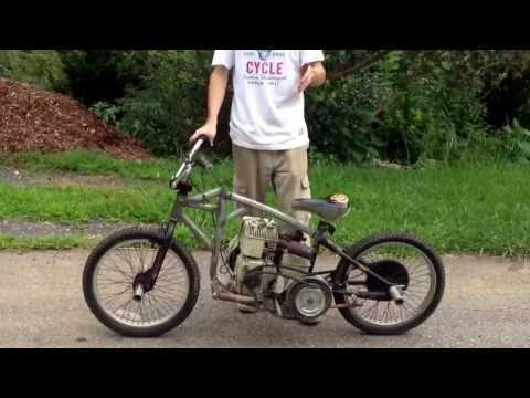 My home made 6.5 HP mini Motorcycle