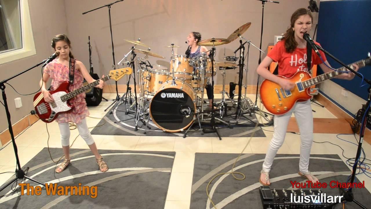 Enter Sandman - METALLICA Cover - The Warning - YouTube