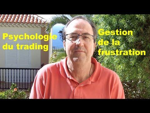 Psychologie du trading. Gestion de la Frustration