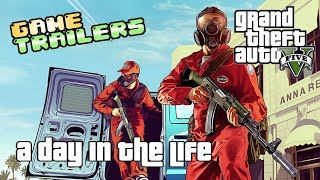 Game Trailers: Grand Theft Auto V: A Day in the Life