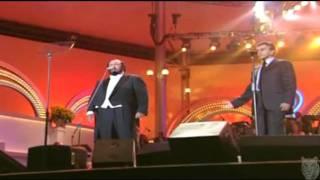 Luciano Pavarotti Video - CAETANO VELOSO & LUCIANO PAVAROTTI....MANHA DE CARNAVAL