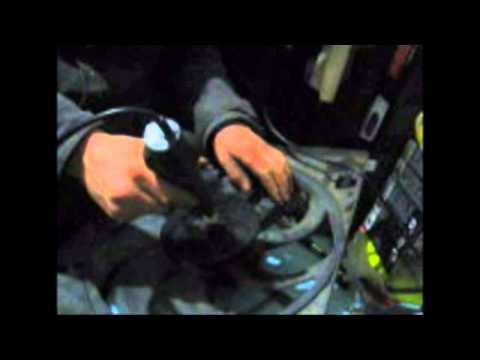 Видео как снять крыльчатку
