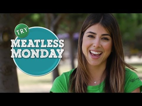 Daniella Monet for Meatless Monday