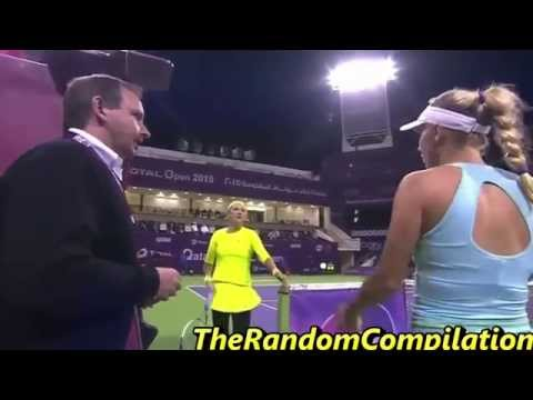 Drama In Women Tennis Compilation Part 5