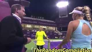 Drama In Women Tennis Compilation Part 5