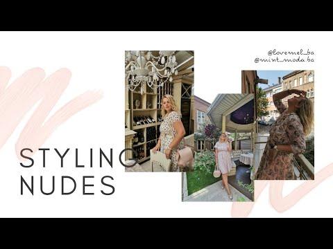 Kako stilizujem neutralne aksesoare sa haljinama za žene krupne građe / Melissa shoes