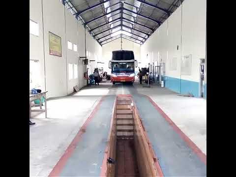 Penampilan bus Harapan Jaya HINO RM 380 Legacy Sky