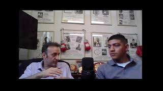 Interview with undefeated Lightweight Michael Dutchover