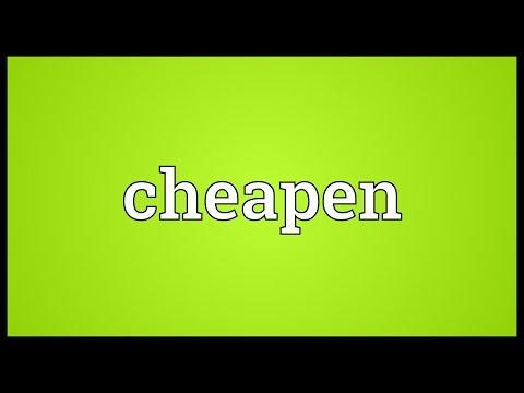 Header of cheapen