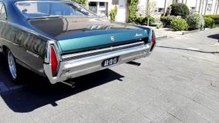 Mercury monterey 1967 390 v8 sound