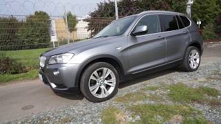 2013 BMW X3 xDrive30d - DESIGN - SOUND - ACCELERATION 0-200 km/h