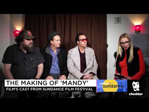 Nicolas Cage And The Cast Of Mandy At The Sundance Premiere - Cheddar