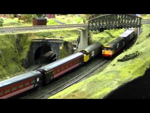Here is a video of the large model railway that is hosted at Railworld and in this showcase video, I am testing out both of the Hornby Eurostar Class 373 tra...