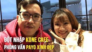 Đột nhập Kone Cafe, phỏng vấn gái xinh - Taken by iPhone 8 Plus