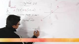 03. Determining Ratio of Intersection | অনুপাত নির্ণয় | OnnoRokom Pathshala