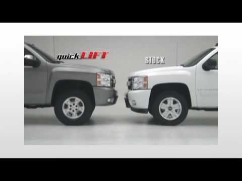 Chevy Tahoe 3 Inch Lift Rancho Quick Lift Suspension - YouTube