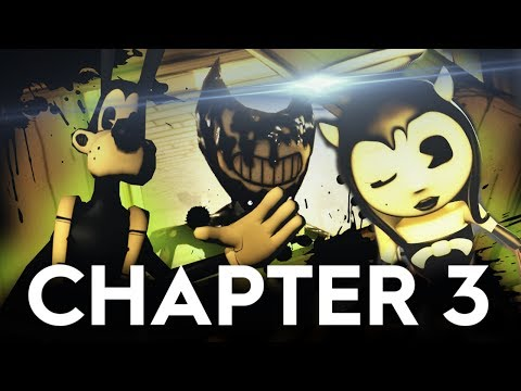 Bendy and the Ink Machine Chapter 3 | Trailer 2 (BATIM Fan trailer)