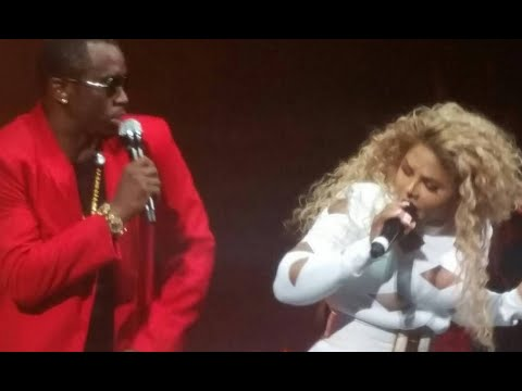 Diddy Brings Out Lil Kim At Bad Boys Reunion Tour Barclay's