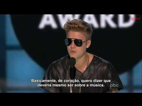 Justin Bieber wins Milestone Award at Billboard Music Awards 2013 [Legendado]