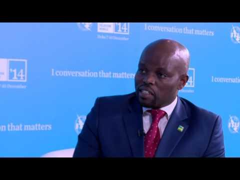 ITU TELECOM WORLD 2014 INTERVIEW: Hon. Jean Philbert Nsengimana,  Minister, ICT, Rwanda