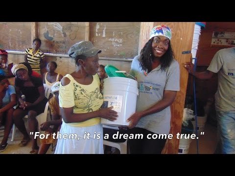 GrifAid® Safe Water Stories: COOPI and SET4Food in Haiti