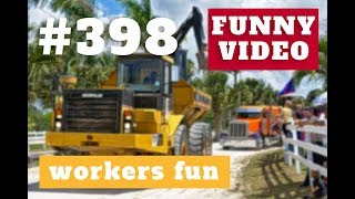 Workers fun | 2018 ★ 7 second of happiness FUNNY Video 😂 #398