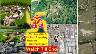 OM | Swastik | Star | Amazing finds on Google Earth