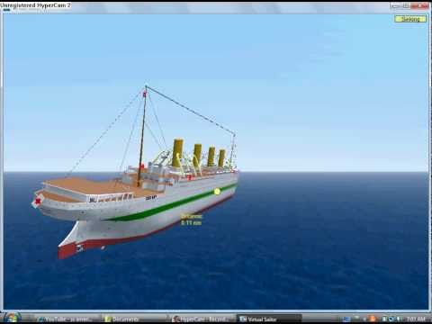 Virtual Sailor 7 HMHS Britannic sinking