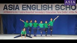Yoga Day Celebration at ASIA English School