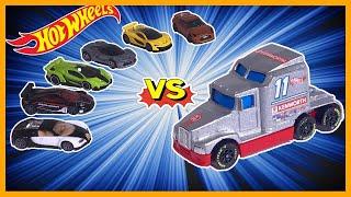 BIG RIG RACER vs 6 HYPER CAR EXOTICS