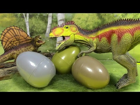 New World Jurassic Dinosaurs Surprise eggs! bearded gecko, crocodile, snake, peace ect  세계 쥬라기 공룡!