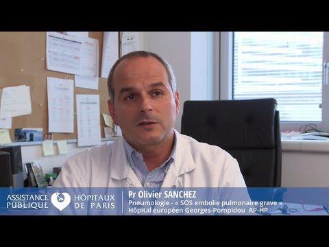 """Présentation de """"SOS embolie pulmonaire grave"""" par Pr Olivier Sanchez thumbnail"""