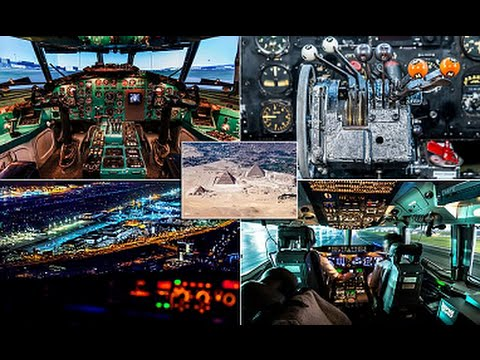 Pilot's Eye View! Cockpit Photos Reveal Cityscapes, Sprawling Deserts and Even a Active Volcano