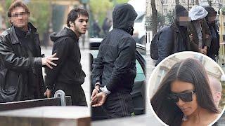 Photos of Kim Kardashian's Alleged Paris Robbers | Splash News TV