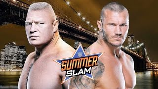 WWE Summerslam 2016 - Randy Orton vs Brock Lesnar - Promo