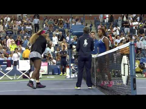 US Open 2014 Serena Williams vs Taylor Townsend R1