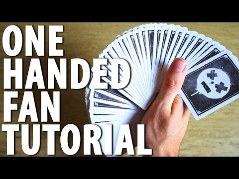One Handed Fan Tutorial